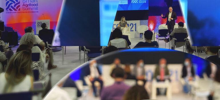 asistimos a Smart AgriFood Summit 2021